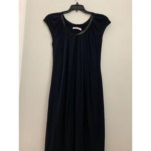 Dresses & Skirts - navy blue black dress